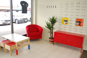 Child friendly eye clinic